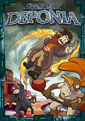 Deponia 2 Chaos on Deponia