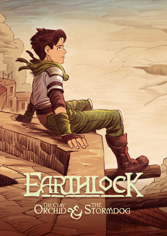 EARTHLOCK Comic Book #1