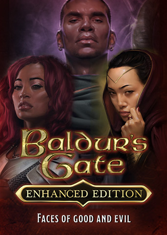 Baldur's Gate Faces of Good and Evil